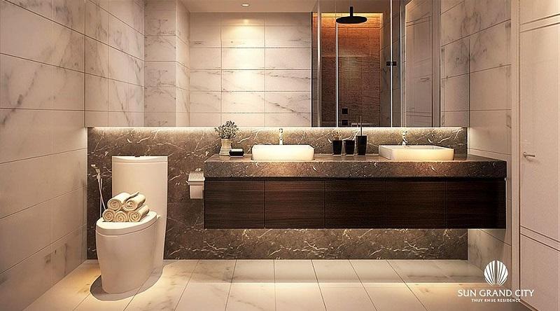 Sun Grand City Thụy Khuê - Phòng tắm