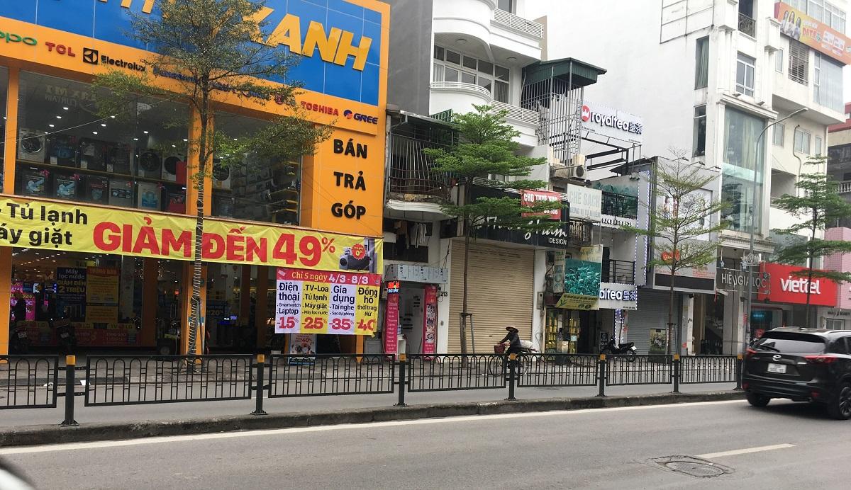 Bán nhà mặt phố Tôn Đức Thắng, Đống Đa, Hà Nội