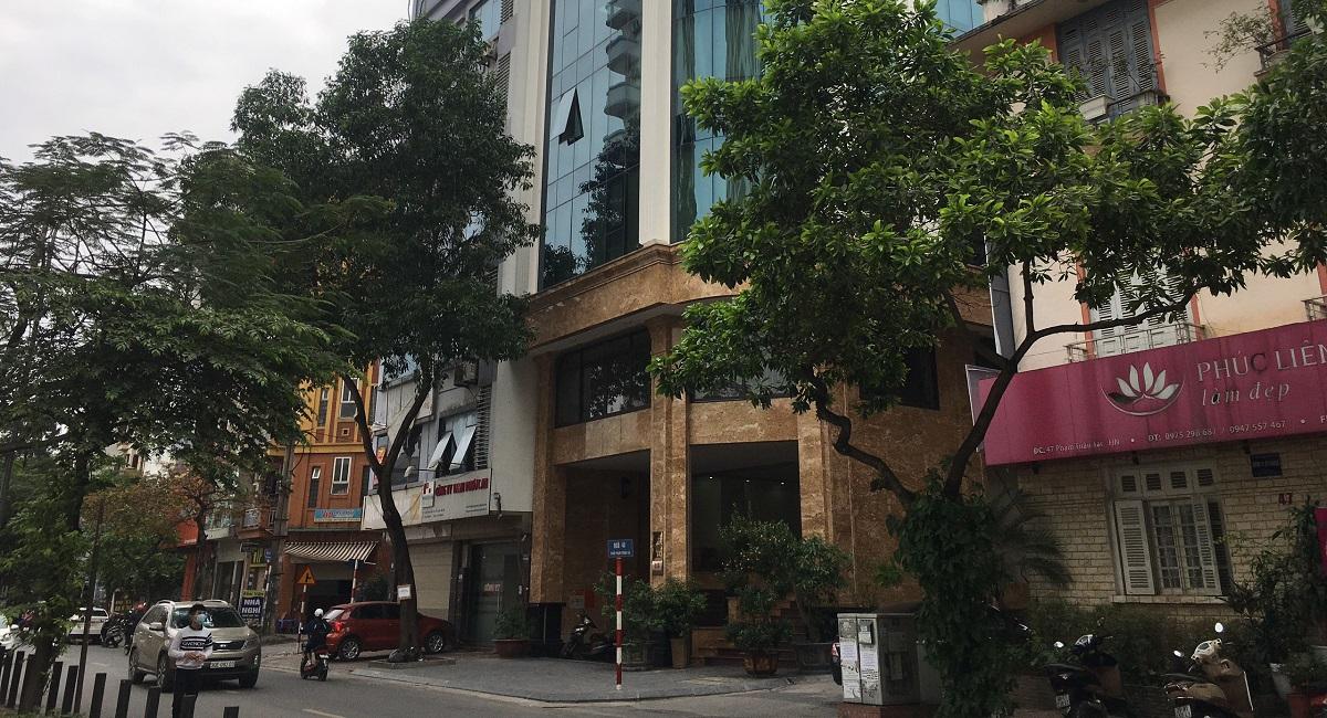 Bán tòa nhà văn phòng phố Phạm Tuấn Tài